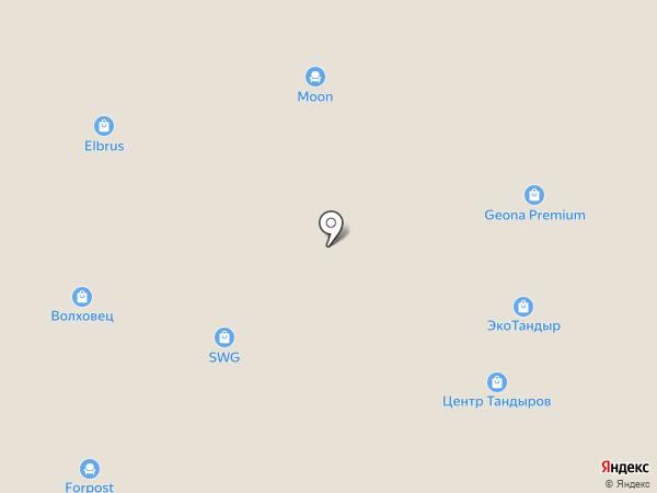 Мир света на карте Уфы
