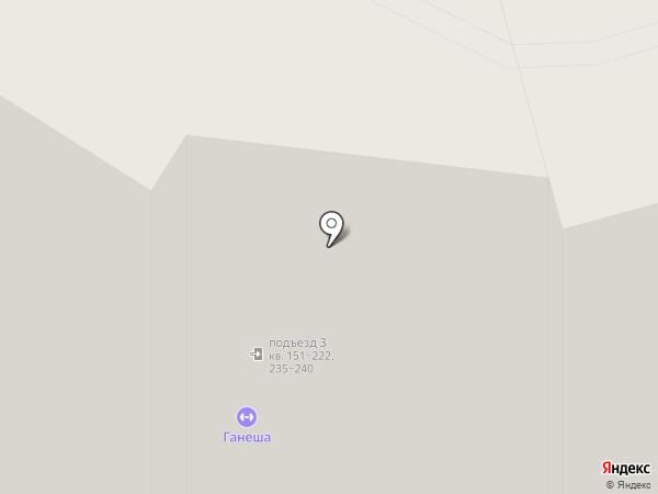 Ганеша на карте Уфы