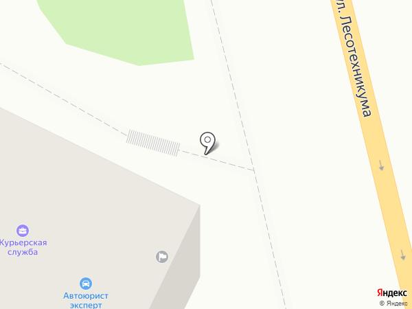 Городская Почтовая Служба на карте Уфы