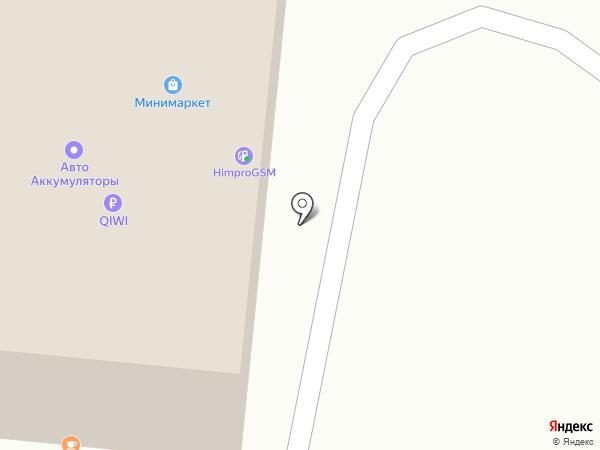 ХИМПРОДУКТ-АЗС на карте Перми