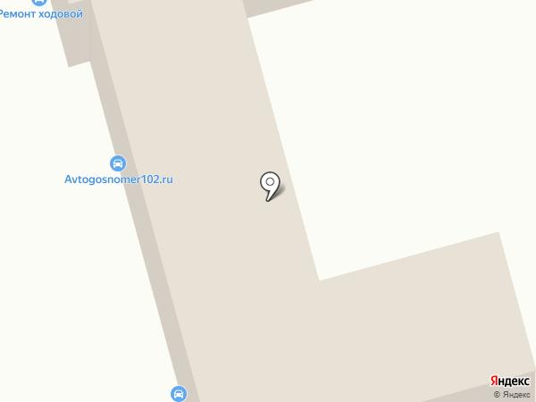 Автосервис по ремонту Жигулей на карте Уфы