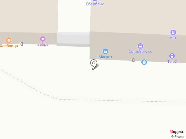 Башмачок на карте Перми