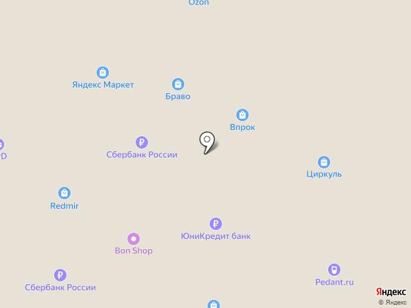 ДНС на карте Перми
