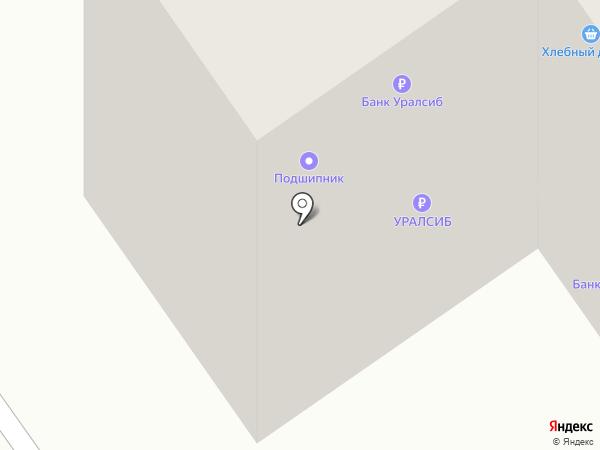 Новострой на карте Ишимбая