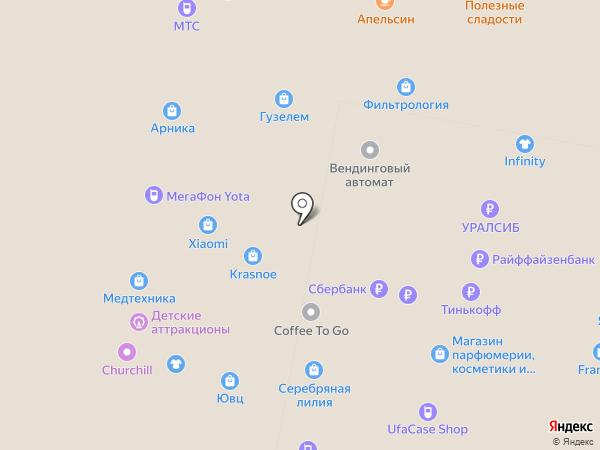 33 пингвина на карте Уфы