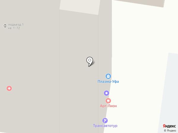 Tramplin Fitness на карте Уфы