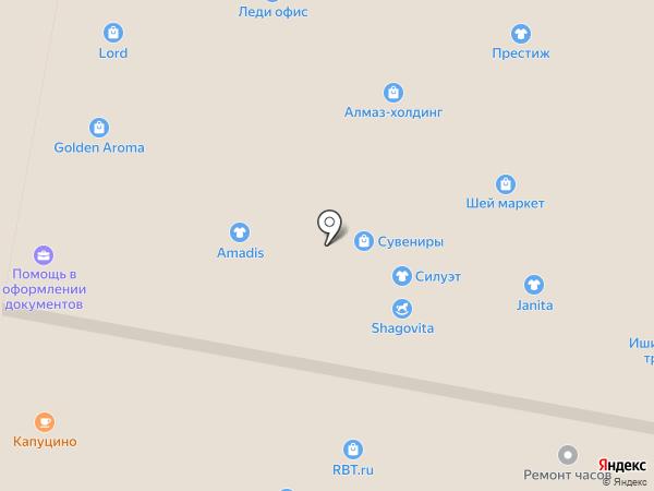 Ломбард82 на карте Уфы