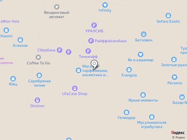 XD на карте Уфы