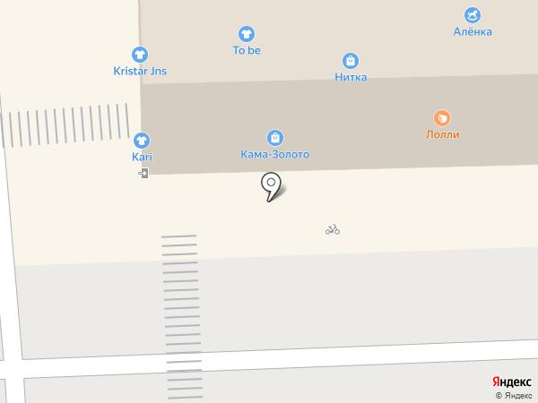 Воздушная феерия на карте Перми