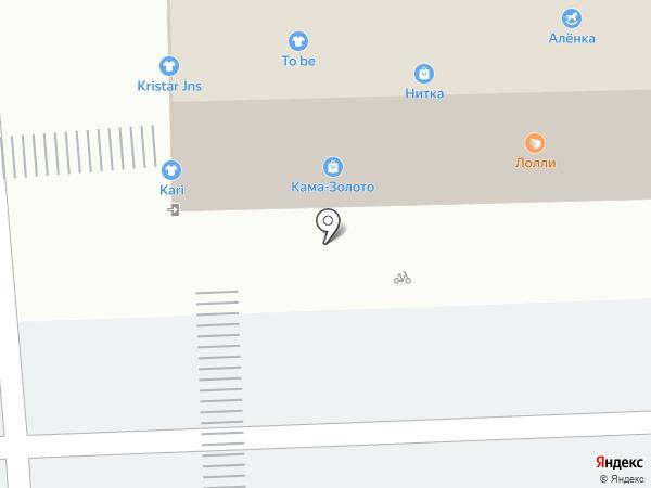 ORIGAMI на карте Перми