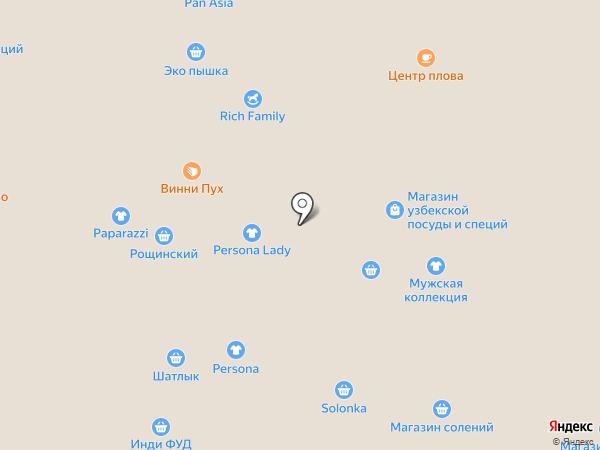 Магазин фермерской продукции на карте Уфы