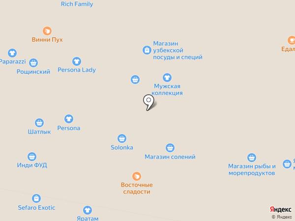 Магазин изделий из шерсти на карте Уфы