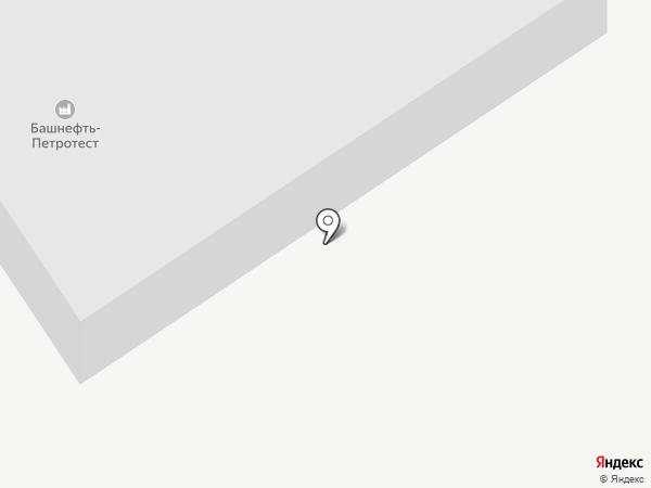 Башнефть-Петротест на карте Ишимбая