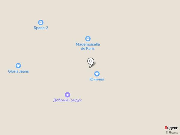 Глория Джинс на карте Перми