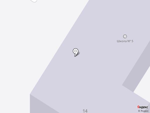 Основная общеобразовательная школа №5 на карте Ишимбая