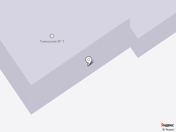 Гимназия №1 на карте Ишимбая