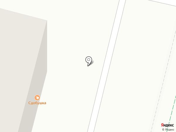 Экона на карте Уфы
