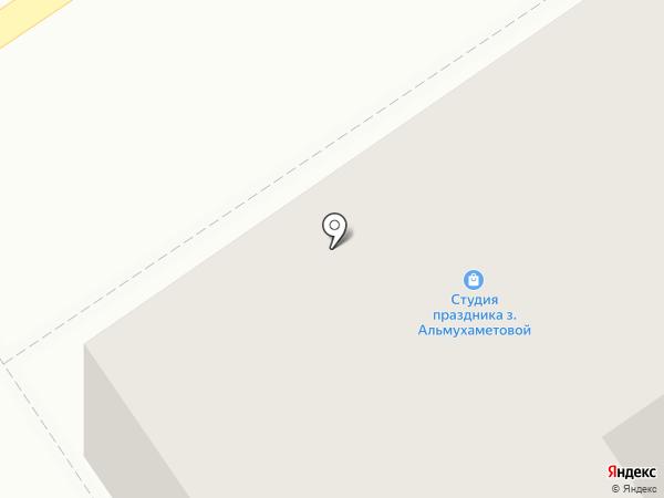 Пышка на карте Ишимбая