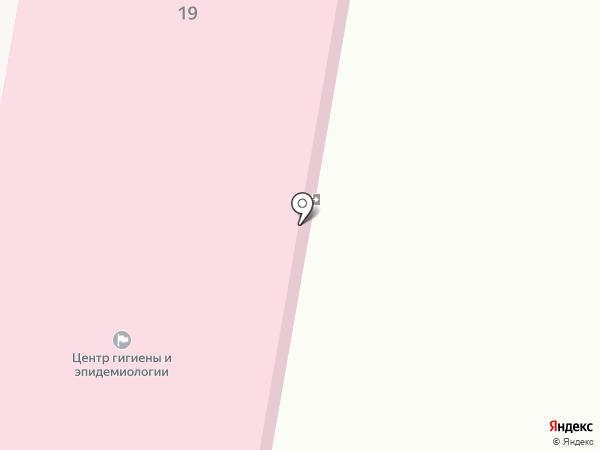 Уголовно-исполнительная инспекция, Управление ФСИН России по Республике Башкортостан на карте Ишимбая