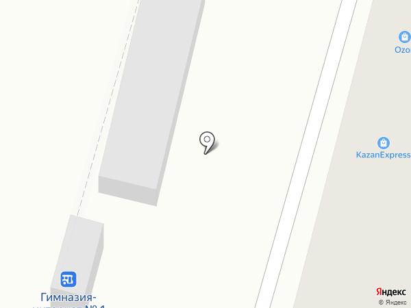 Пункт продажи и пополнения транспортных карт на карте Уфы