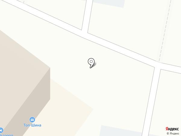 Гвоздь на карте Уфы