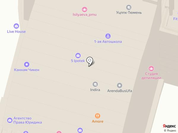 БайХан на карте Уфы