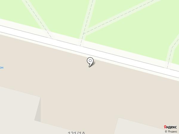 Сова на карте Уфы
