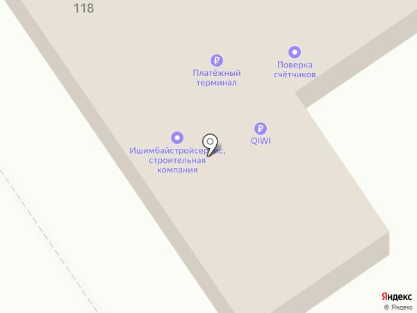 Агидель на карте Ишимбая