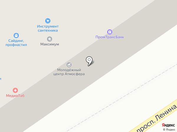 Банк ПТБ на карте Ишимбая