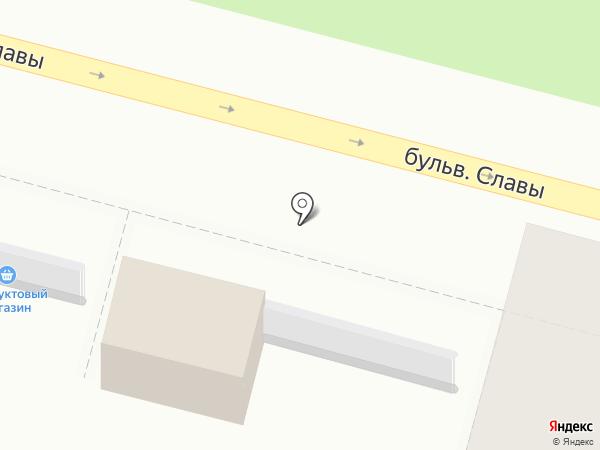 Магазин по продаже кондитерских изделий на карте Уфы