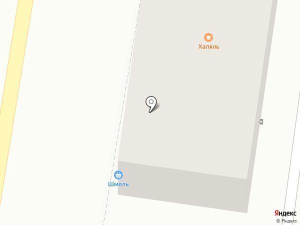 Шмель на карте Ишимбая