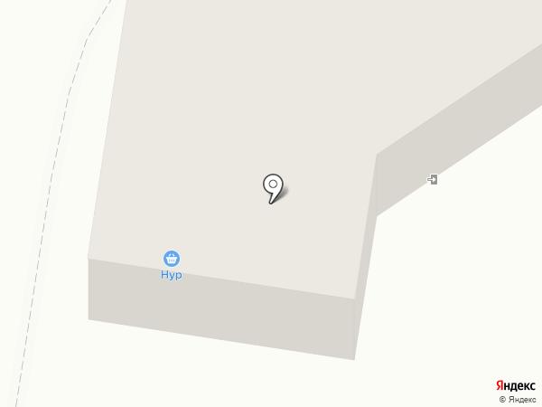 Нур на карте Ишимбая