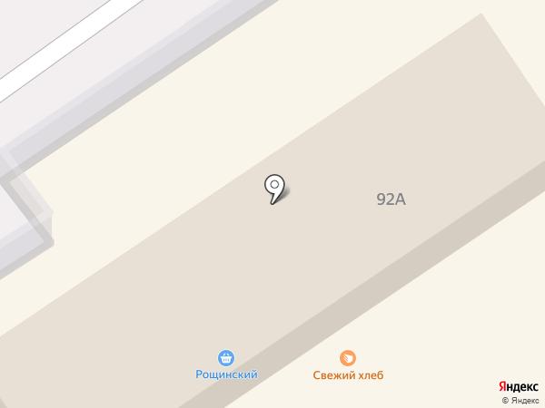 Рощинский на карте Ишимбая