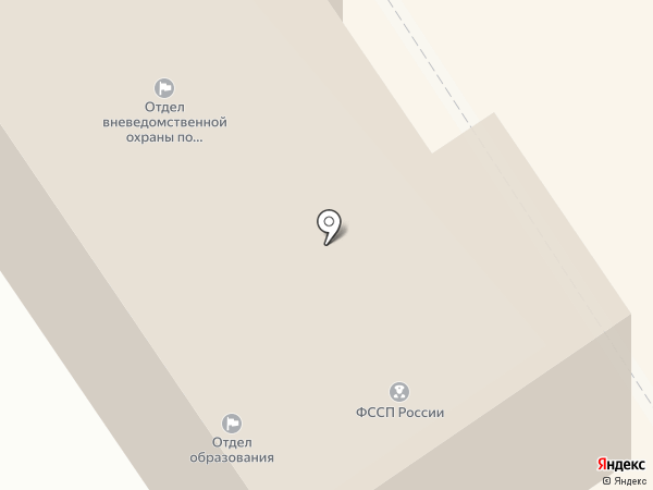 Ишимбайский межрайонный отдел судебных приставов на карте Ишимбая