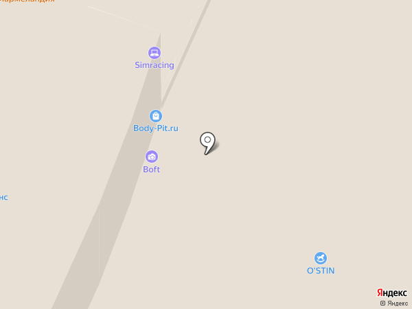 Orby на карте Уфы