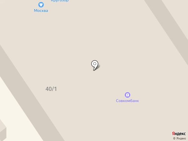 Салон компьютерной вышивки на карте Ишимбая