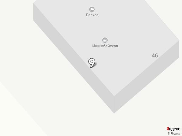 Макаровское лесничество, ГКУ на карте Ишимбая