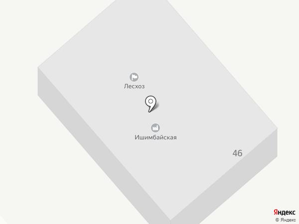 Макаровское лесничество на карте Ишимбая
