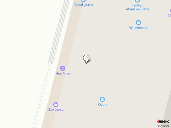 Ленмакс на карте Уфы