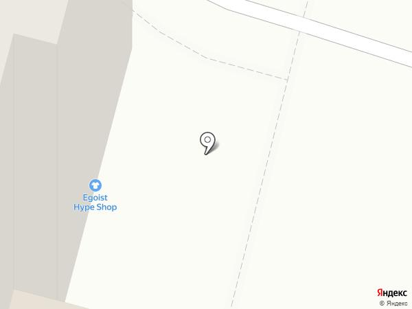 Жираф на карте Уфы