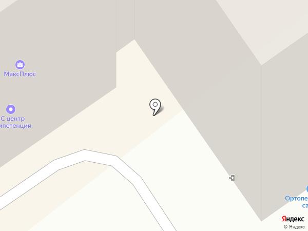 Гаражно-строительный кооператив №1 на карте Ишимбая
