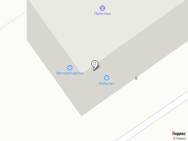 Айболит на карте Ишимбая