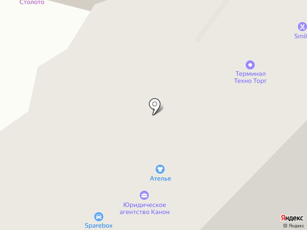 Терминал Техно Торг на карте Уфы
