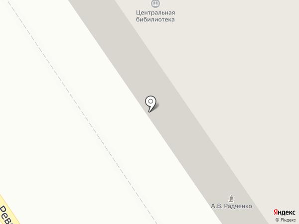 Централизованная библиотечная система на карте Ишимбая
