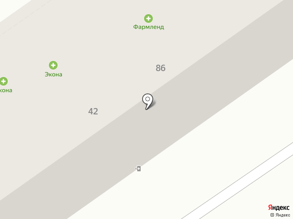Аптека от склада на карте Ишимбая