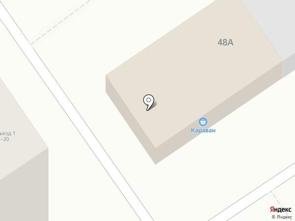 Караван на карте Ишимбая