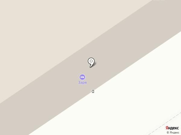 Заря на карте Ишимбая