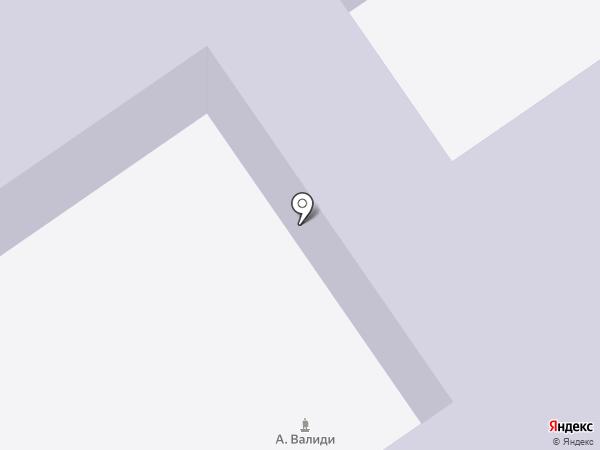 Специализированная юношеская автомобильная школа на карте Ишимбая