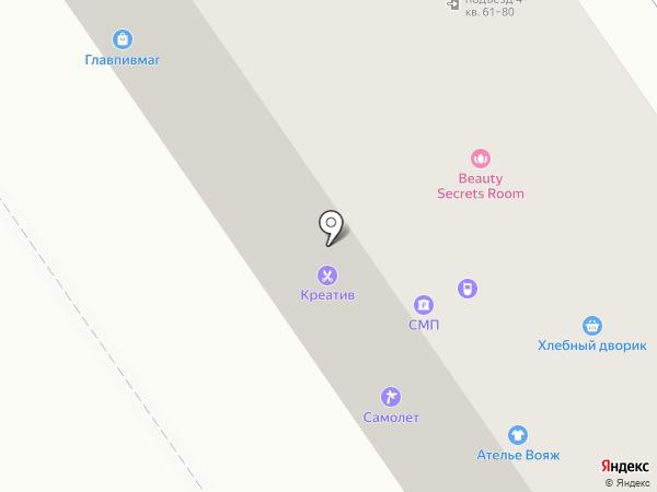 Бакса-Сад на карте Ишимбая