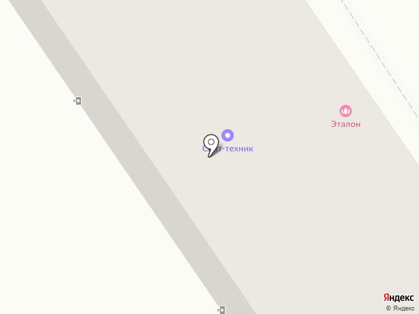 Глория на карте Ишимбая